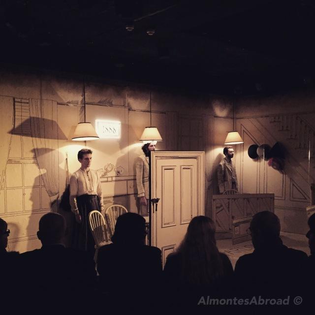 Almontes Abroad pub theatre