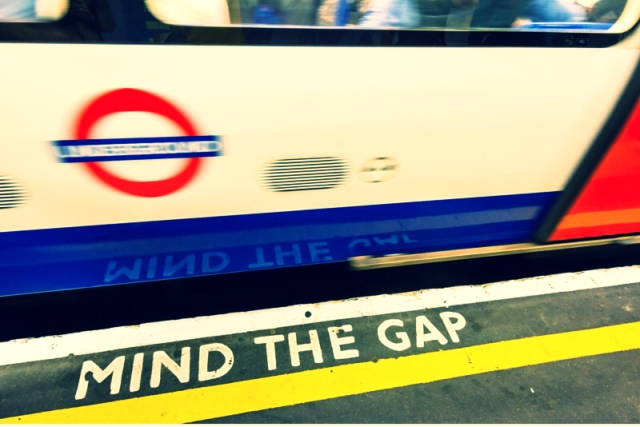 Mind the gap blog