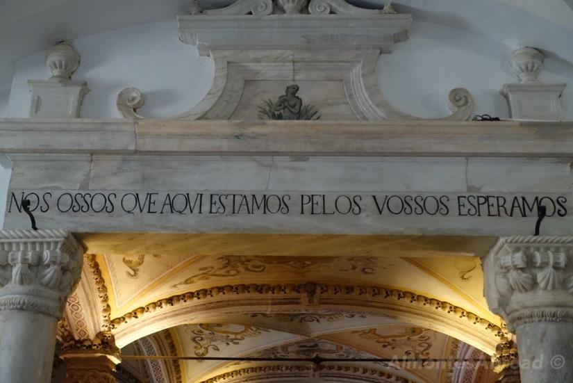 Bone Chapel Almontes Abroad
