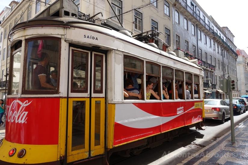 Tram 28 Lisbon Almontes Abroad