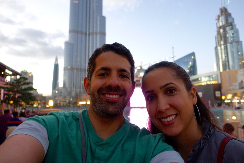 Selfies at the Burj